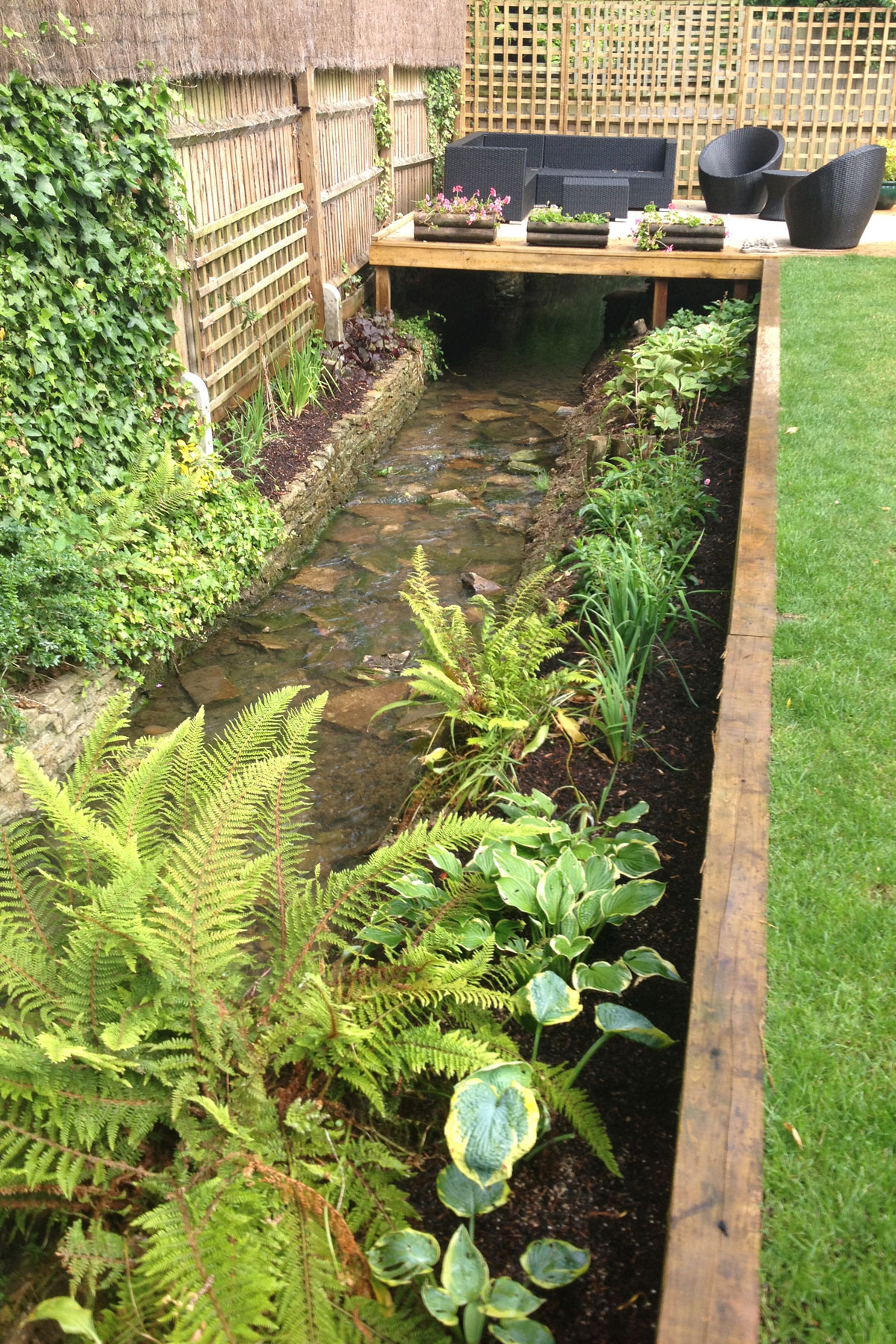 the flower water youtube ponds for chelsea and watch show garden fountains at features